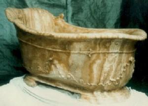 Baignoire durant l'Antiquité